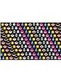 Alicia en el País de Las Maravillas Emoji Bufanda Multicolores,