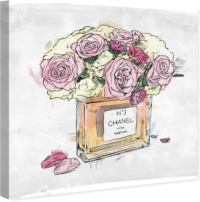 Designer art print home decor Pink peonies flowers floral fashion beauty pretty
