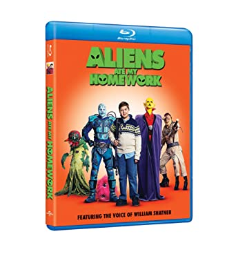 Miraculous Amazon Com Aliens Ate My Homework 2018 Blu Ray William Best Image Libraries Weasiibadanjobscom