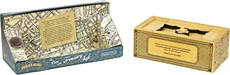 Professor Puzzle Sherlock Holmes - The Case of The Treasury Safe ...