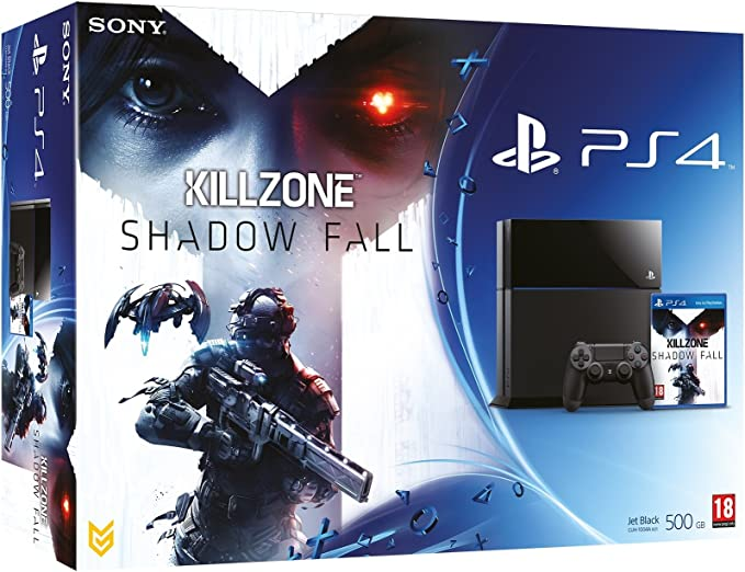 PlayStation 4 - Consola 500 GB + Killzone: Shadow Fall: Amazon.es: Videojuegos
