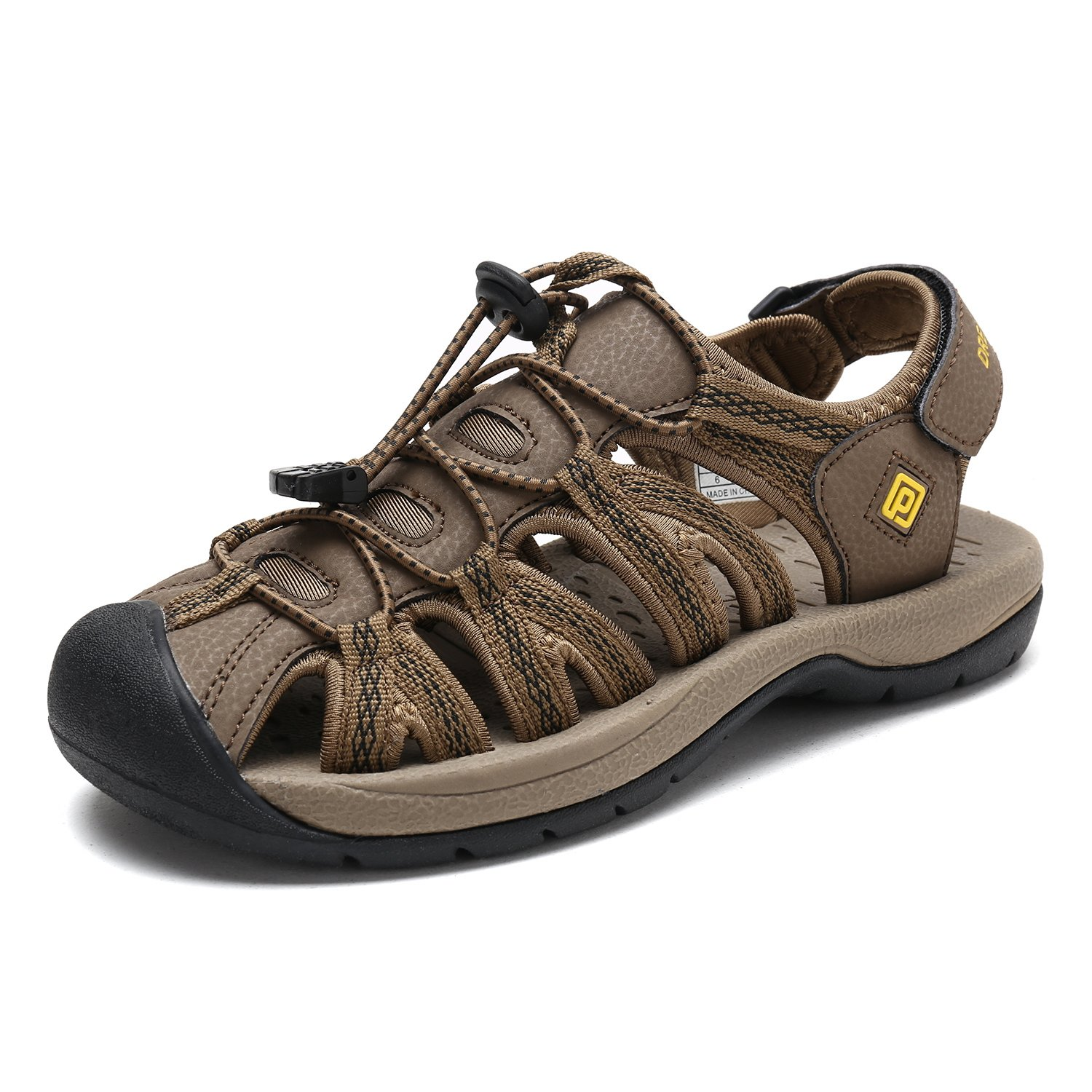DREAM PAIRS Women's 160912-W Adventurous Summer Outdoor Sandals B077GDDJ98 11 B(M) US|Khaki Yellow