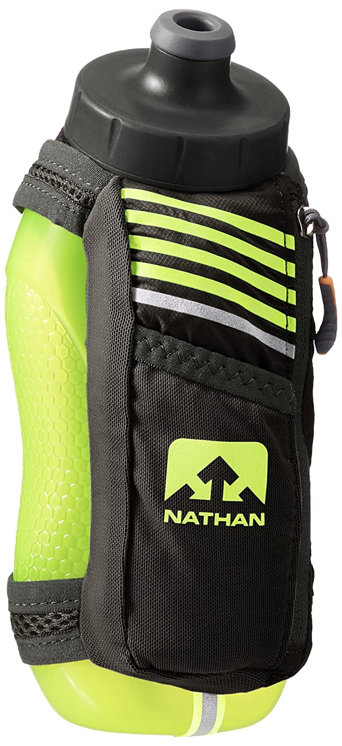 Nathan SpeedMax Plus Handheld Flask, Vivacious, One Size NATHAN SPORTS 4857NVW