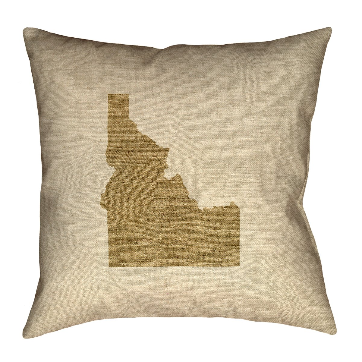 Waterproof and Mildew Proof Idaho Canvas Pillow ArtVerse Katelyn Smith 16 x 16 Outdoor Pillows /& Cushions UV Properties
