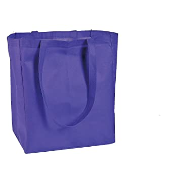 Amazon.com: Púrpura Shopper bolsa Bolsas: Industrial ...