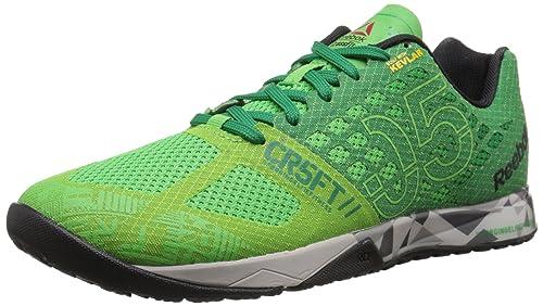 Reebok Men's Crossfit Nano 5.0 Training Shoe, Bright Green/Basil Green/Steel /