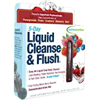 Applied Nutrition 5-Day Liquid Cleanse & Flush, Fast-Acting Mixed Berry Total Body Cleanse, 10-Twist Tubes Box,100ml(3.35Floz)