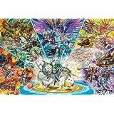 1000ピース ジグソーパズル PUZZLE&DRAGONS 天空の神と竜 (50x75cm)