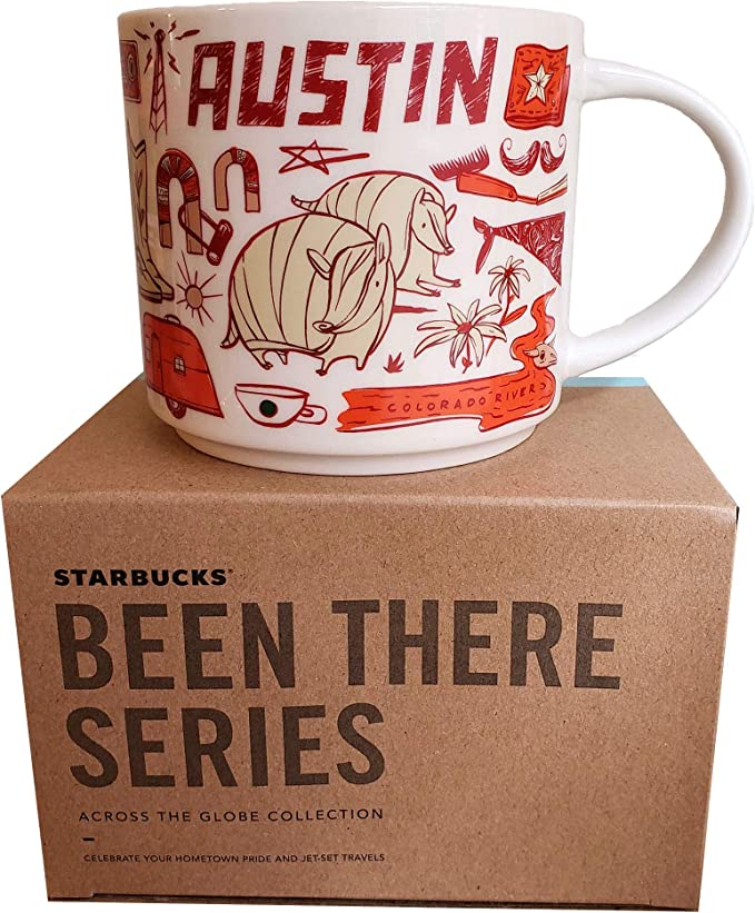 Starbucks AUSTIN Been There Series Collection Coffee MUG NEW