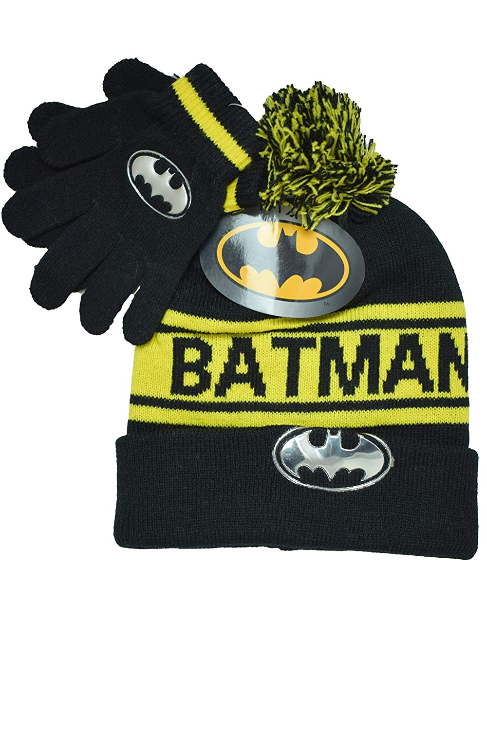 Set cappello, guanti BATMAN