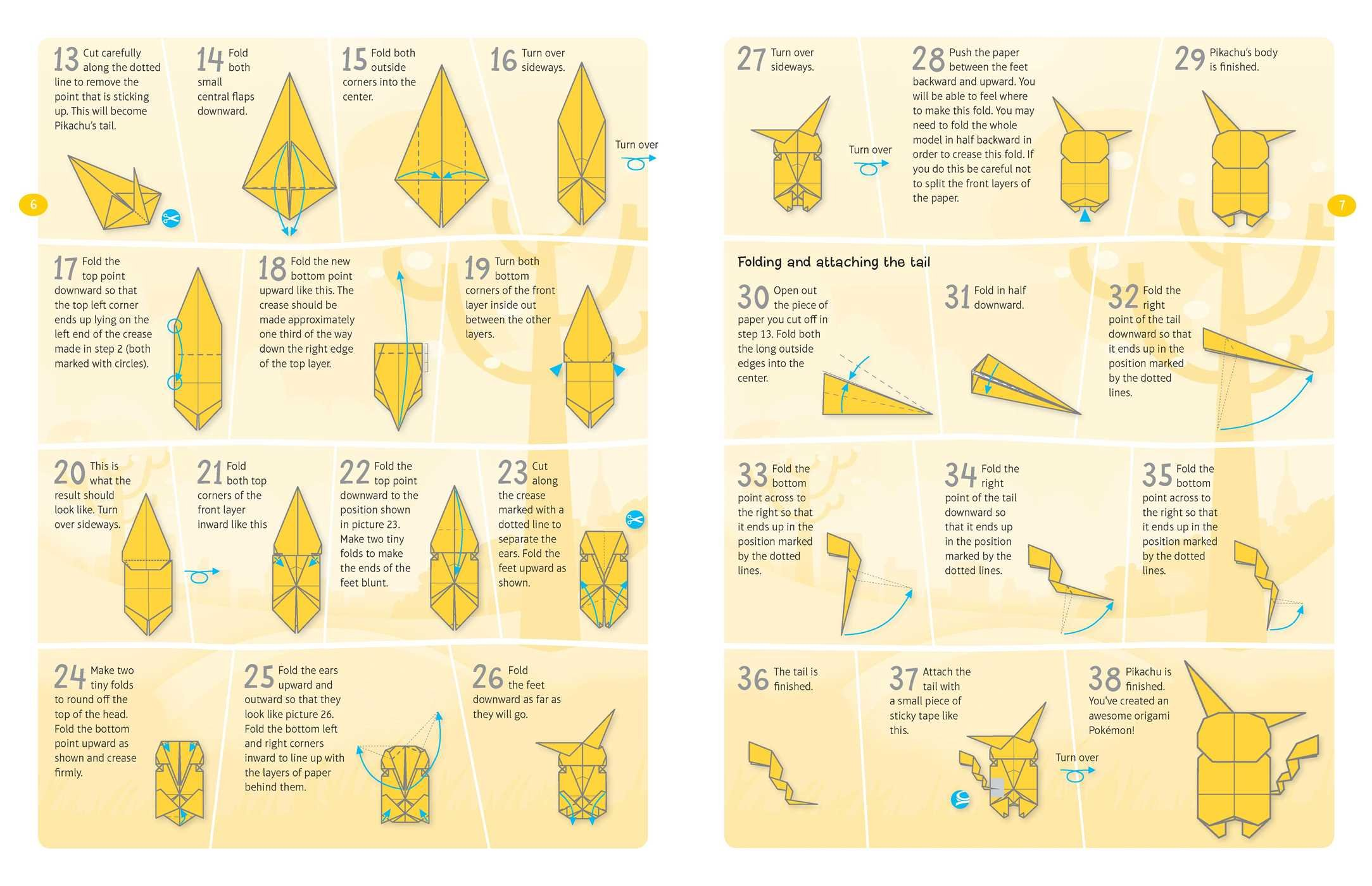 Pokemon origami fold your own pokemon pikachu press pokemon origami fold your own pokemon pikachu press 9781604381832 amazon books jeuxipadfo Images