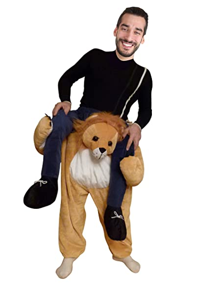 Ikumaal Carry Me Lowen Kostum F101 Gr M L Lowe Faschingskostum