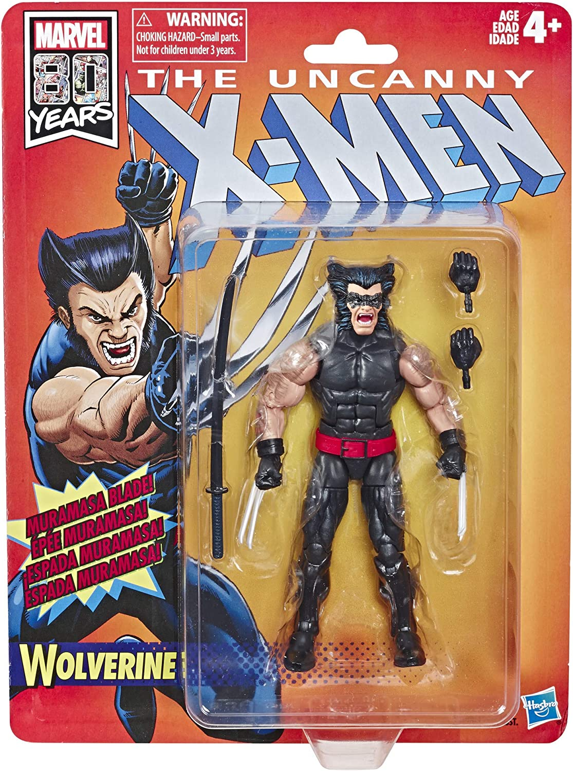 Marvel leggende Grigio BESTIA Retrò X-MEN 6 pollici Action Figure