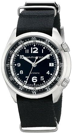 Hamilton reloj caqui Piloto Pionero Automático h76455933 hombre [Regular importados]: Amazon.es: Relojes