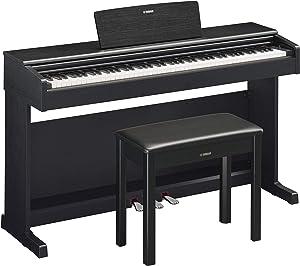 Yamaha YDP144 Arius Series Piano with Bench, Black