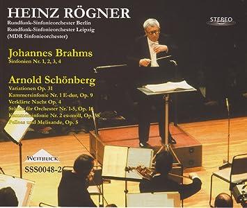 Amazon | ブラームス:交響曲全集...