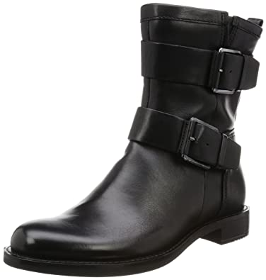 ECCO Womens Womens Shape 25 Motorcycle Boot Black 41 EU10105