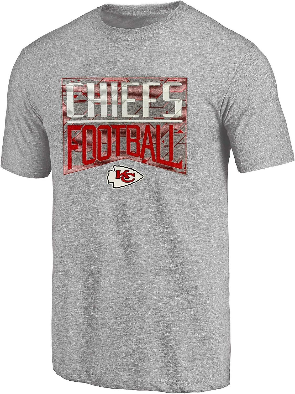 Outerstuff Kansas City Chiefs Youth Team Energy Heather Grey T-Shirt