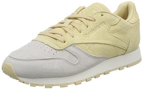 Reebok Cl Lthr Nbk, Zapatillas de Deporte para Mujer: Amazon.es: Zapatos y complementos