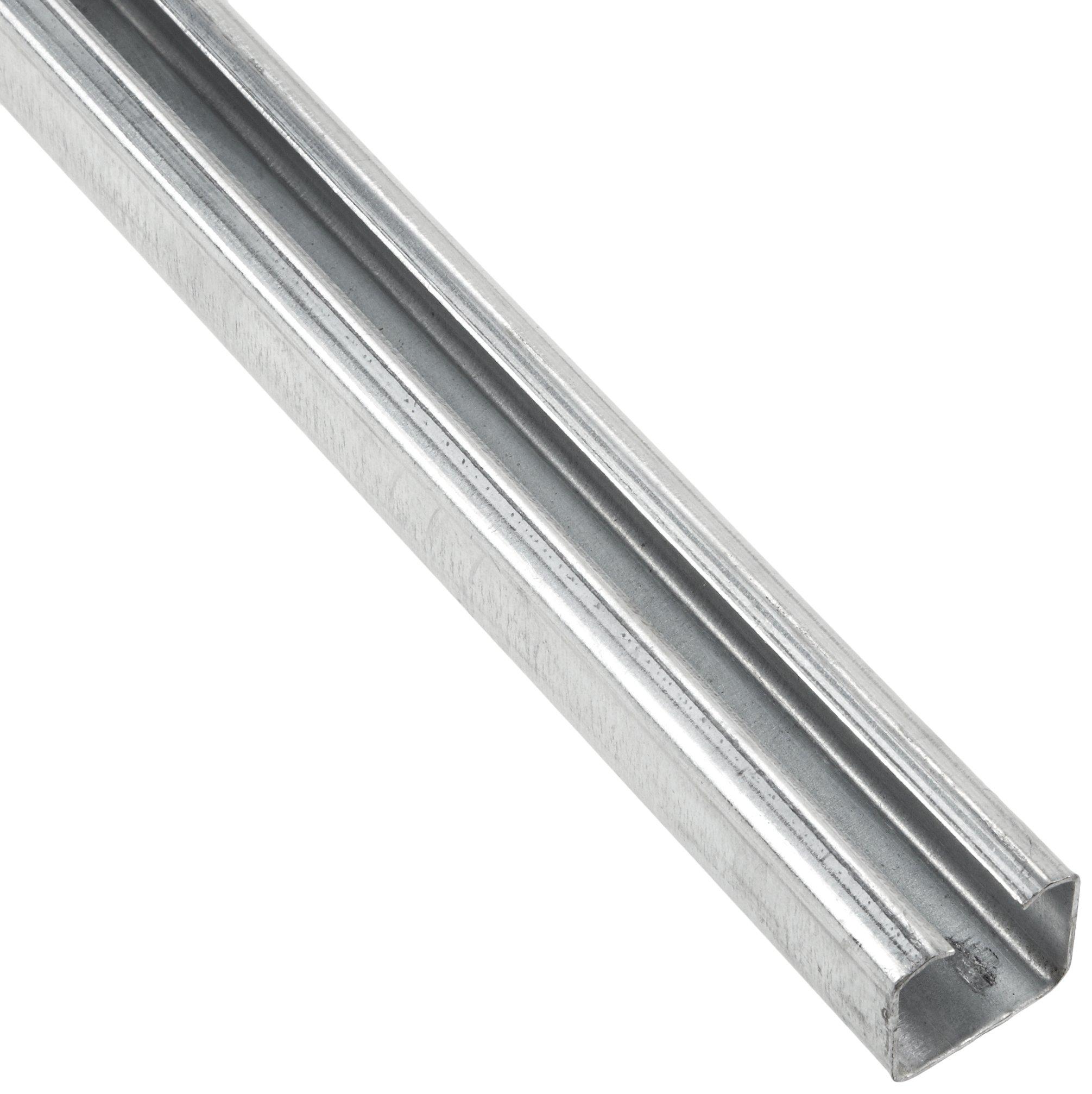 Pemko Folding 200 Series Steel Sliding and Folding Door Hardware, 96'' Track length, 48'' Door Width
