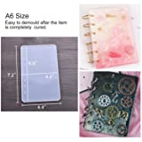 Resin Casting Molds for Notebook Cover A5 A6