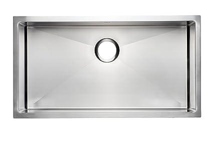 33 premium quality handmade stainless steel kitchen sink single 33quot premium quality handmade stainless steel kitchen sink single bowl undermount workwithnaturefo