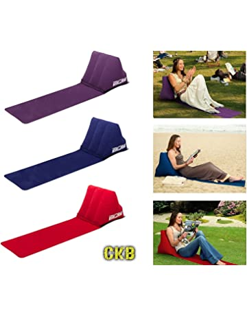 CKB Ltd® The Chill Out Portable Travel Tumbona Hinchable Inflatable Lounger with Wedge Shape del