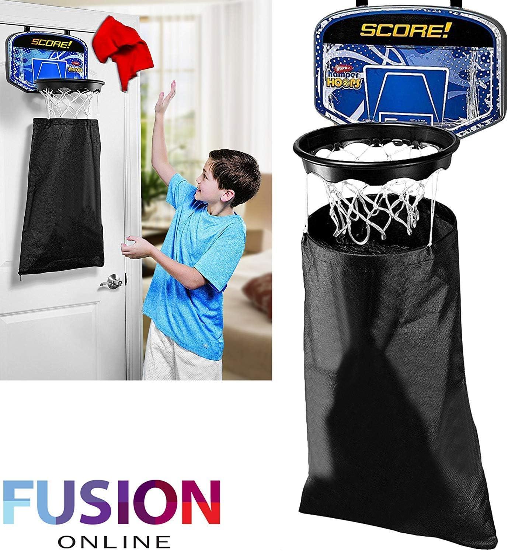 Aro de baloncesto ropa para colgar en puerta Fun Novelty percheros para dormitorio regalo Juego 3+ (Fusion) (TM)