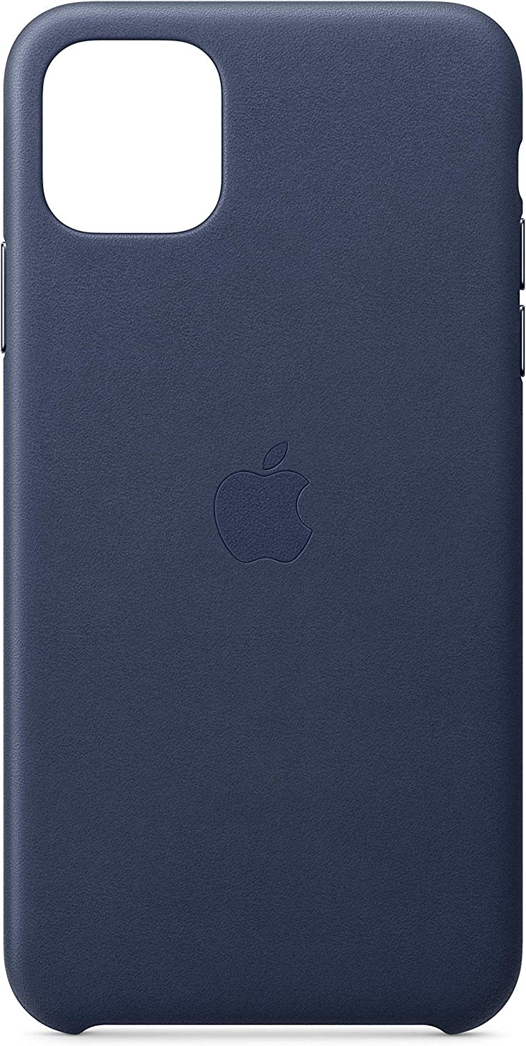 Apple Leather Case (for iPhone 11 Pro Max) - Midnight Blue