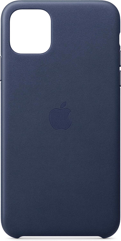 Apple Funda Leather Case (para el iPhone 11 Pro MAX) - Azul Noche