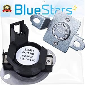 280148 Dryer Thermal Cut Off Replacement Part by Blue Stars - Exact Fit for Whirlpool Dryers - Replaces 280148VP AP3874047