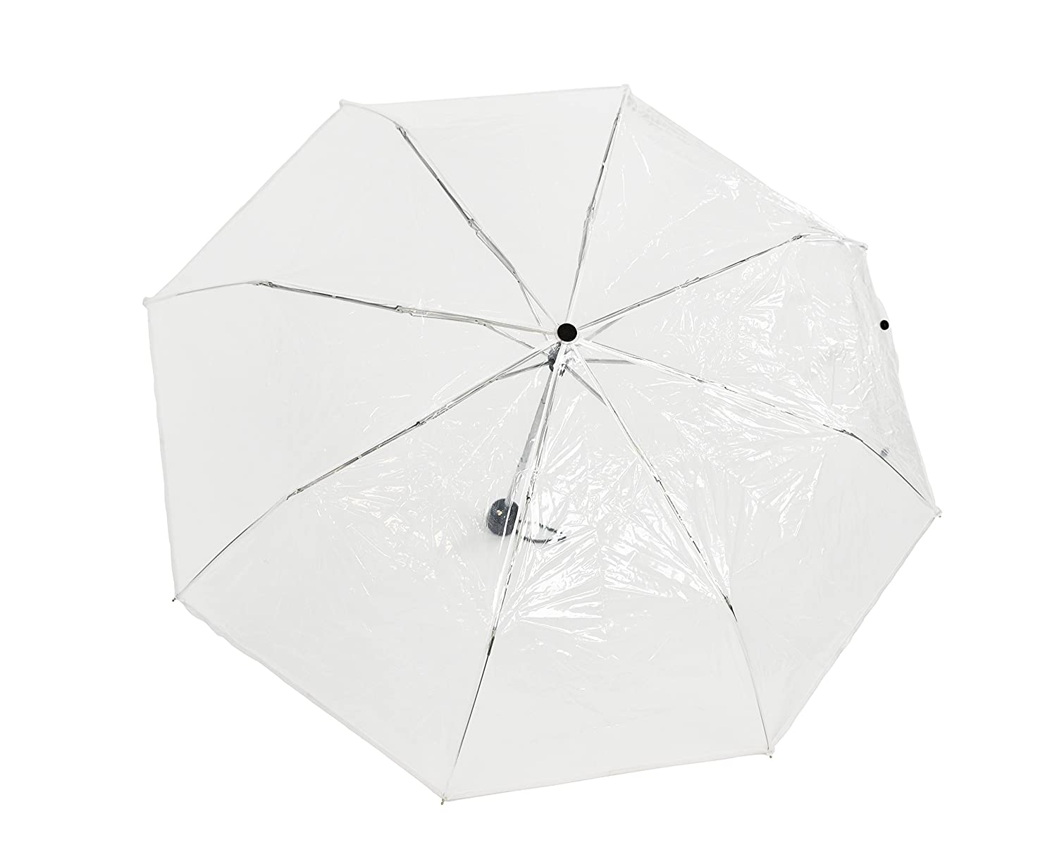 Home X Clear Travel & Folding Umbrella, Perfect Size For Portable Use, Windproof Design Provides Protection In All Kinds Of Weather by Home X