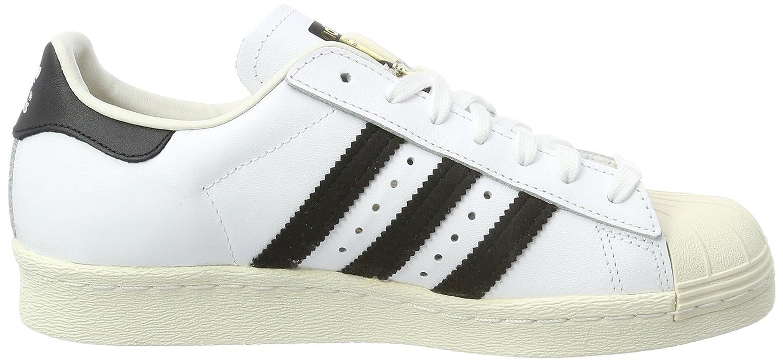 Adidas Originals Superstar, Zapatillas para Hombre, Blanco (Ftwbla/Rubmis/Ftwbla), 41 1/3 EU