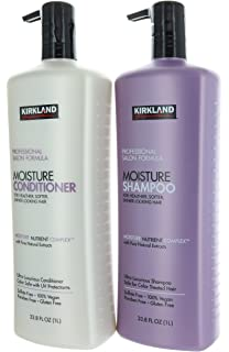 amazon com kirkland signature professional salon formula moisture