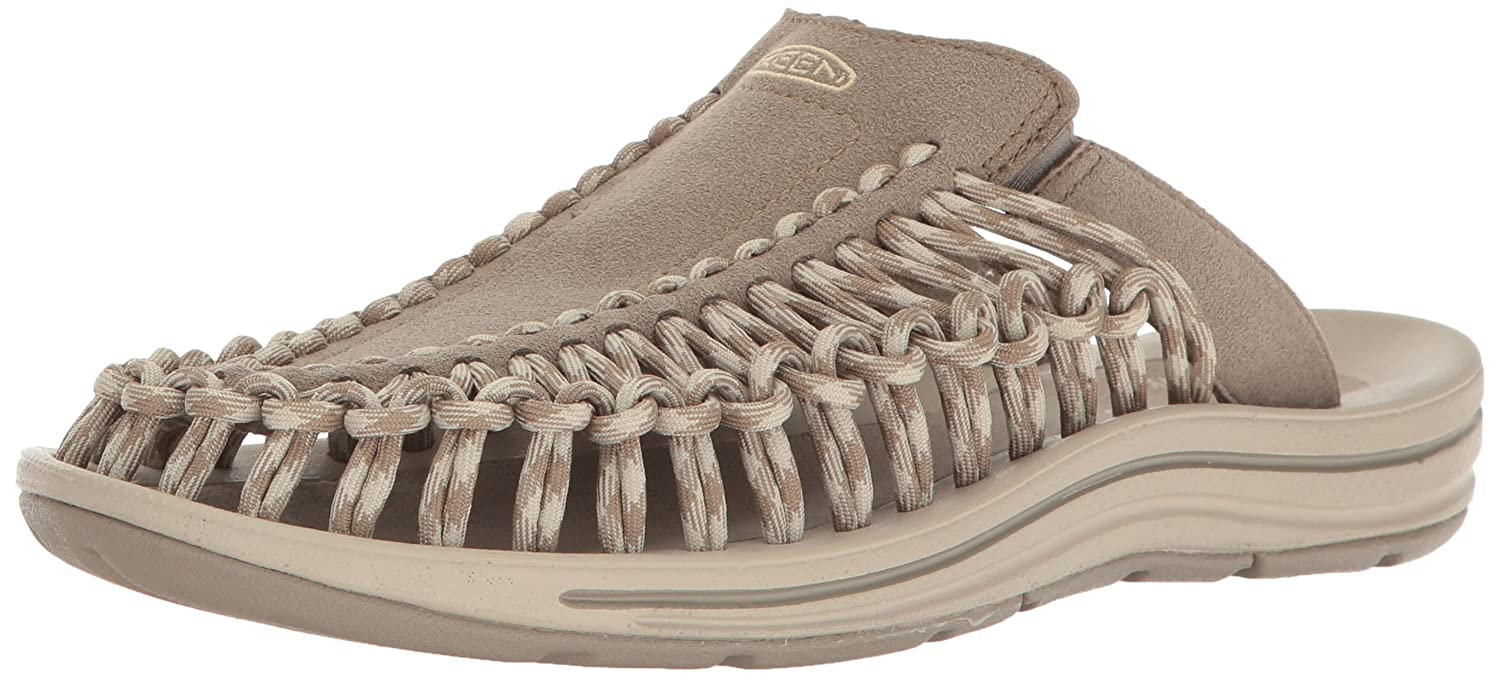 KEEN Women's Uneek Slide-w Sandal B01H8IAPOC 6 B(M) US|Brindle/Feather Gray