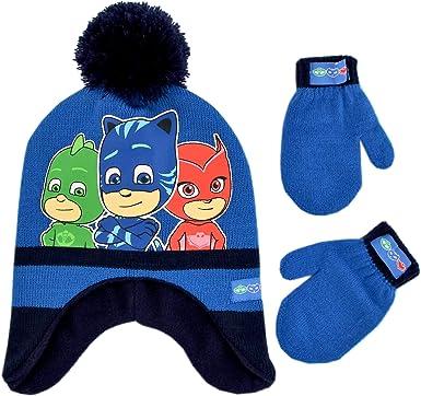 Boys Girls Kids Official PJ Masks Owlette Winter Beanie Hat One Size 4-8 Years