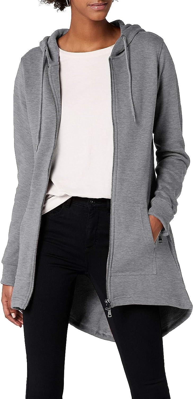 TALLA Large (Talla del fabricante: Large). Urban Classics Jacke Sweat Parka Chaqueta para Mujer