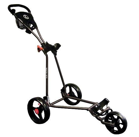 Eze Glide - Carrito de golf con 3 ruedas negro negro: Amazon.es: Deportes y aire libre