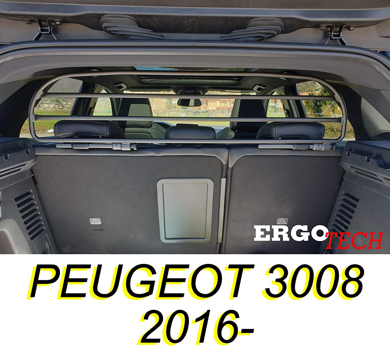 pour Chiens et Bagage ERGOTECH Filet Grille de s/éparation Coffre pour PEUGEOT 3008 RDA65HBG-XS Garantie! S/ûr