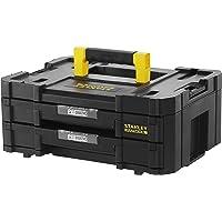Stanley FMST1-71969 FatMax Pro Stack Gereedschapskoffer, 8 liter, met 2 laden en organizers voor kleine onderdelen, met…
