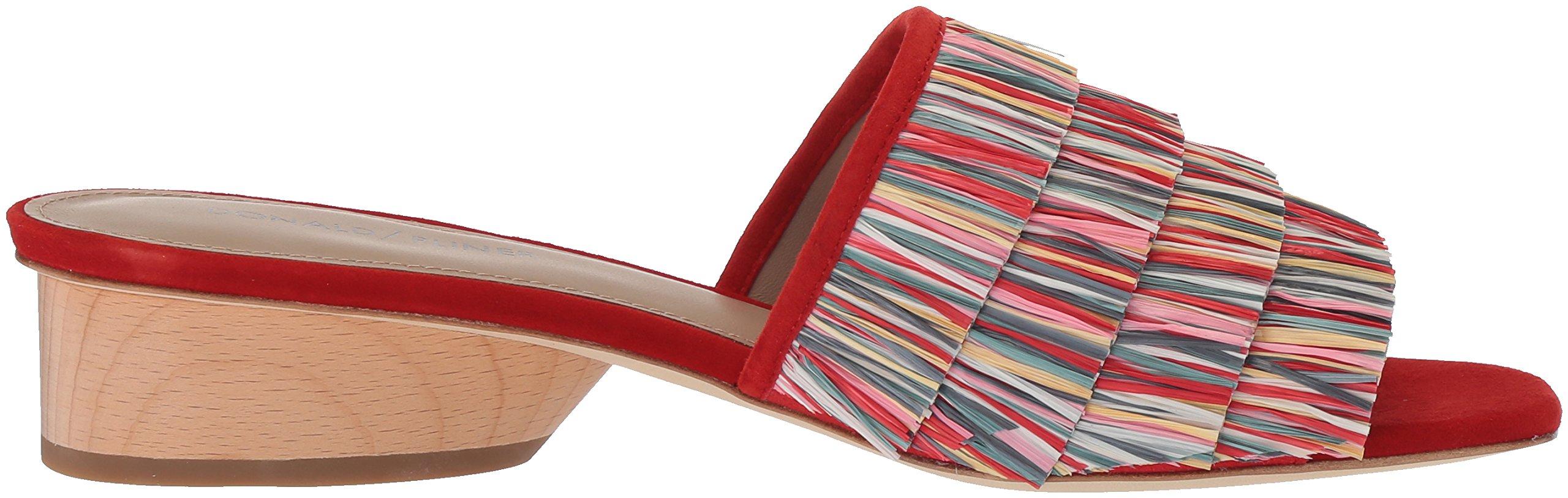 Donald J Pliner Women's Reise Slide Sandal, Red/Multi, 9 Medium US by Donald J Pliner (Image #7)