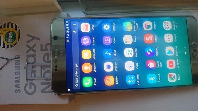 Samsung Galaxy Note 5 DUOS N9208 32GB Silver Platinum Factory Unlocked -  DUAL SIM - GSM - International Version