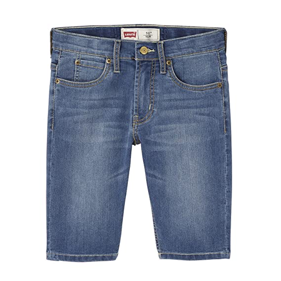 41248c3ef39b4 Levi's Boy's Bermuda 511 Shorts: Levis: Amazon.co.uk: Clothing