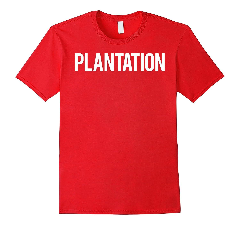 Plantation T Shirt Cool Florida FL city funny cheap gift tee