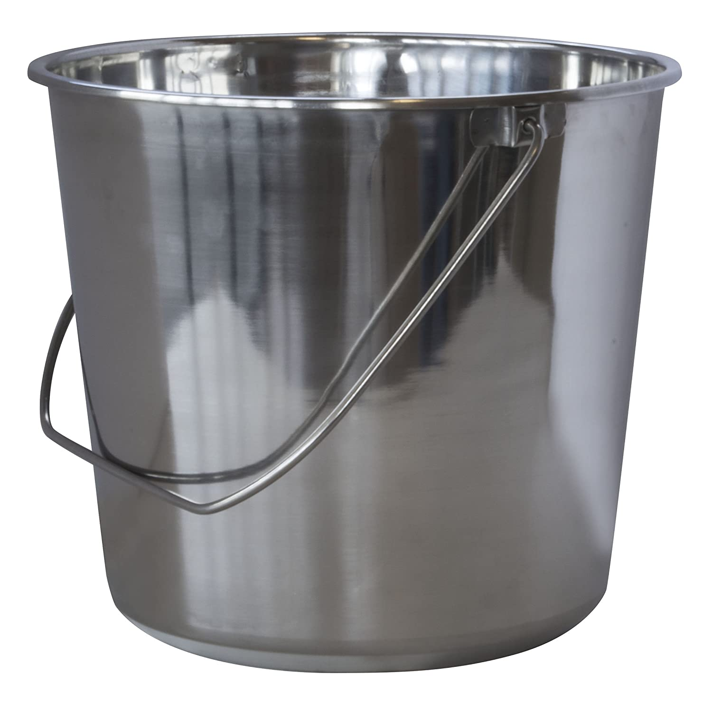 AmeriHome Medium Stainless Steel Bucket Buffalo Corp SSB237