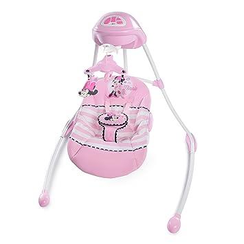 Amazon.com: Disney Baby Minnie Mouse Blushing lazos Swing de ...