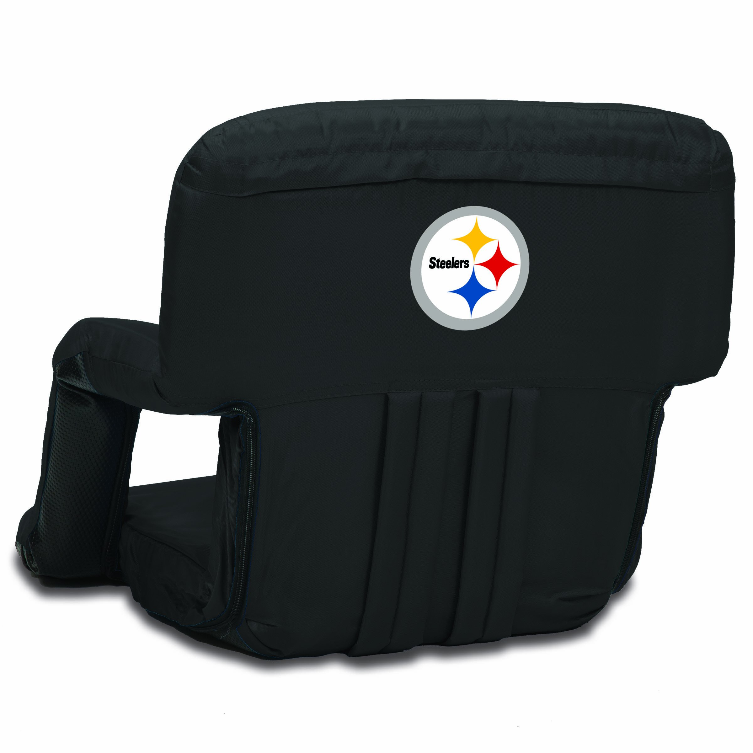 PICNIC TIME NFL Pittsburgh Steelers Portable Ventura Reclining Stadium Seat