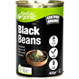 Absolute Organic Black Beans Tinned 400 g, 400 g