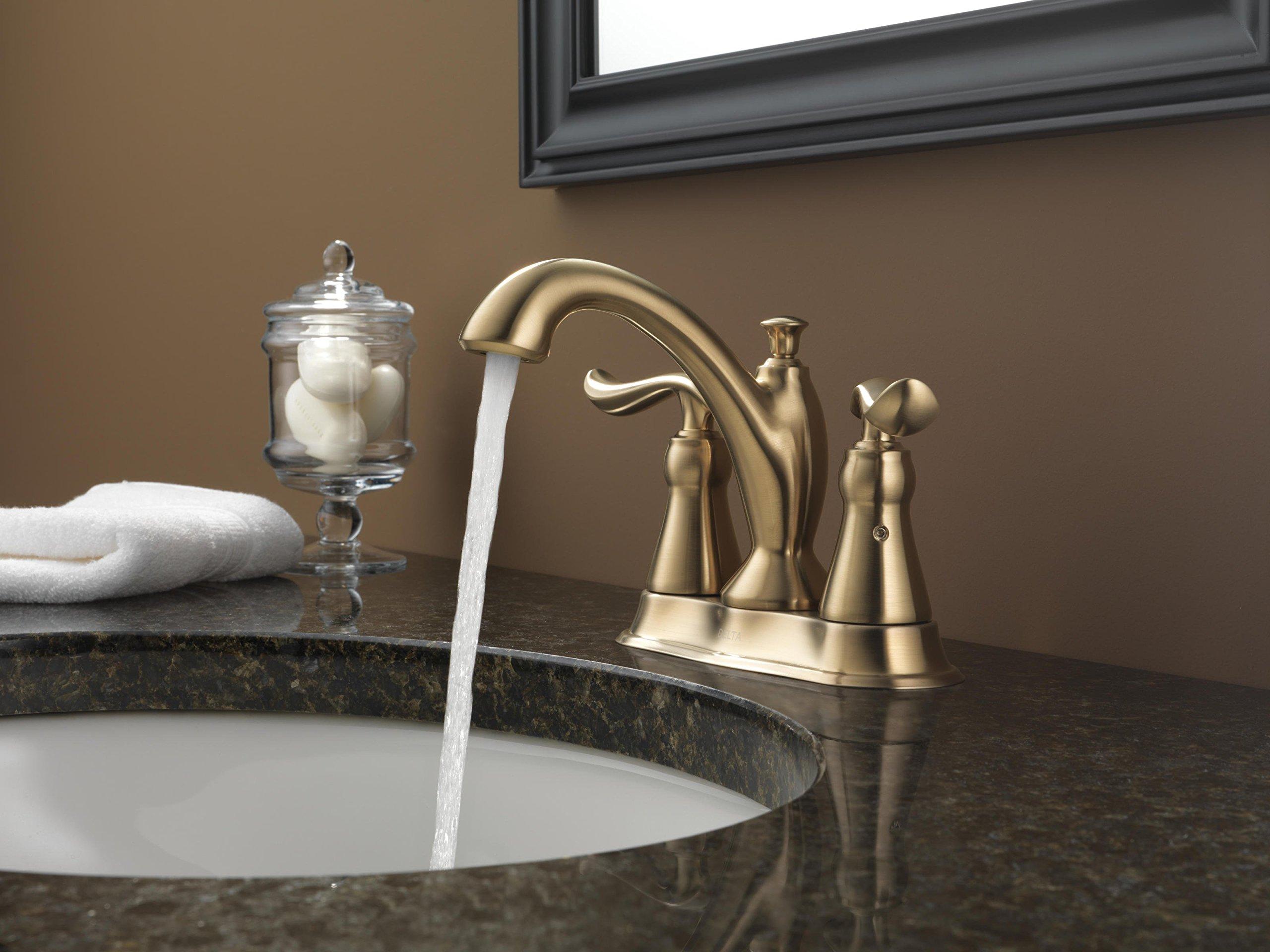 Delta Faucet 2594-CZMPU-DST Linden Two Handle Centerset Bathroom ...