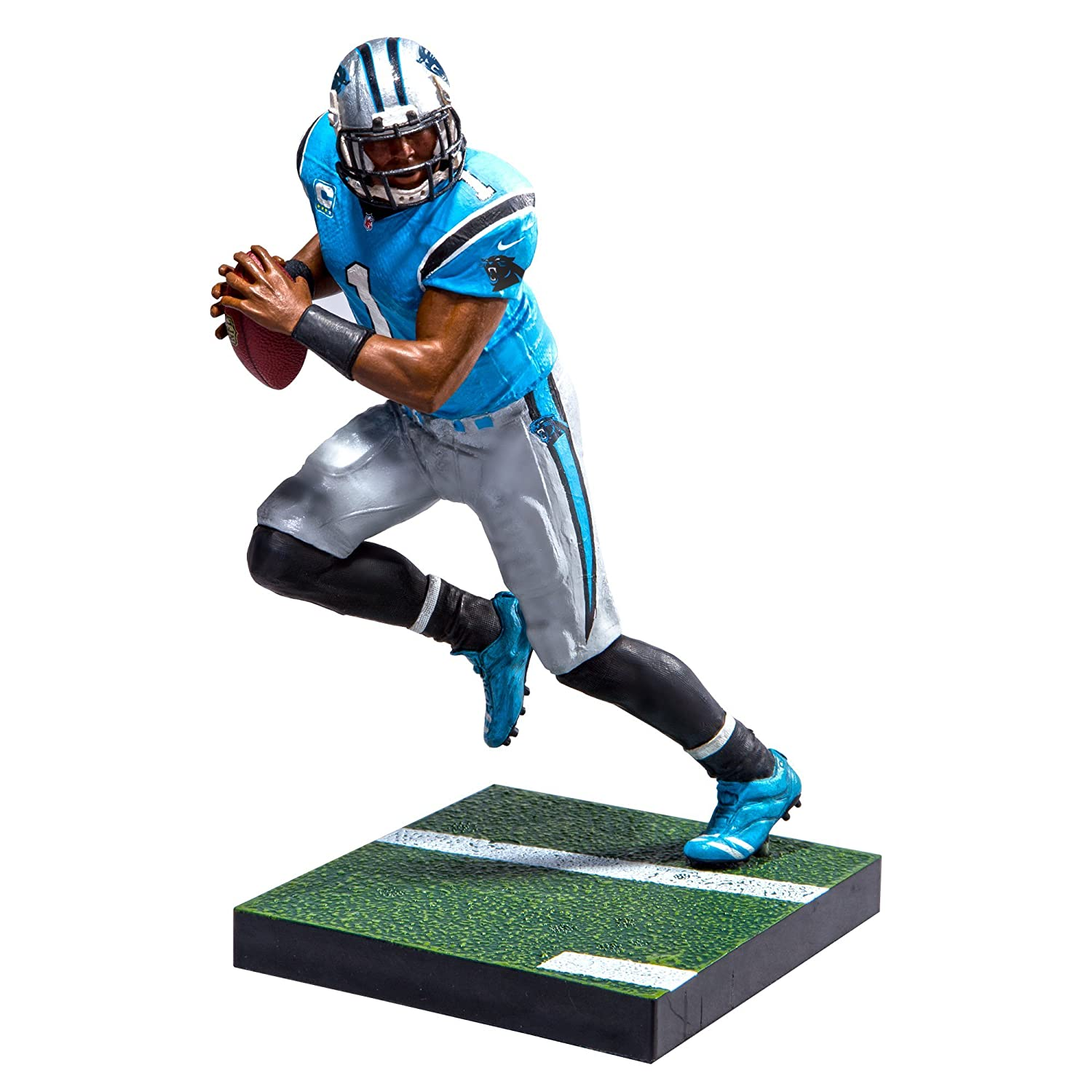 Amazon.com  McFarlane Toys EA Sports Madden NFL 17 Ultimate Team Cam Newton  Carolina Panthers Action Figure  Toys   Games b8e866c3b
